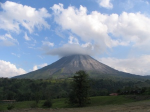 Vocán Arenal in Costa Rica
